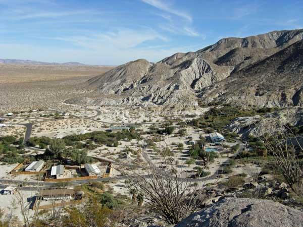 Agua Caliente overlook