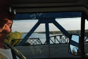 a small part of the width of the Mississippi